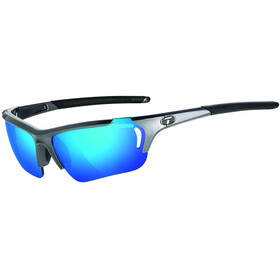 Tifosi Radius FC Glasses gunmetal - clarion blue/ac red/clear